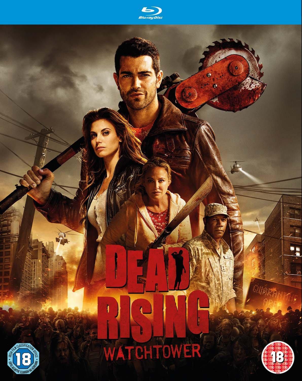 Amazon Com Dead Rising Watchtower Blu Ray Jesse Metcalfe