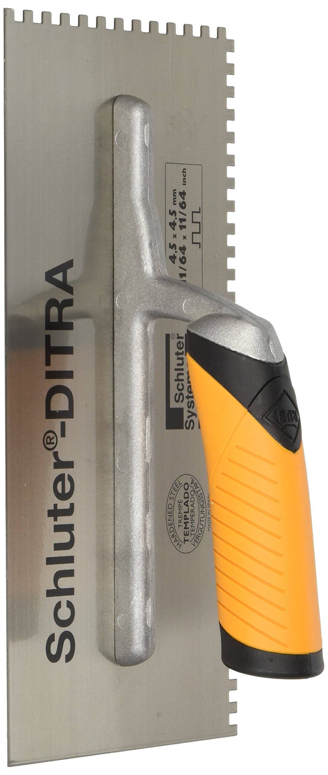 SCHLUTER DITRA TROWEL - 11/64 X 11/64 SQUARE NOTCH by Schluter Systems
