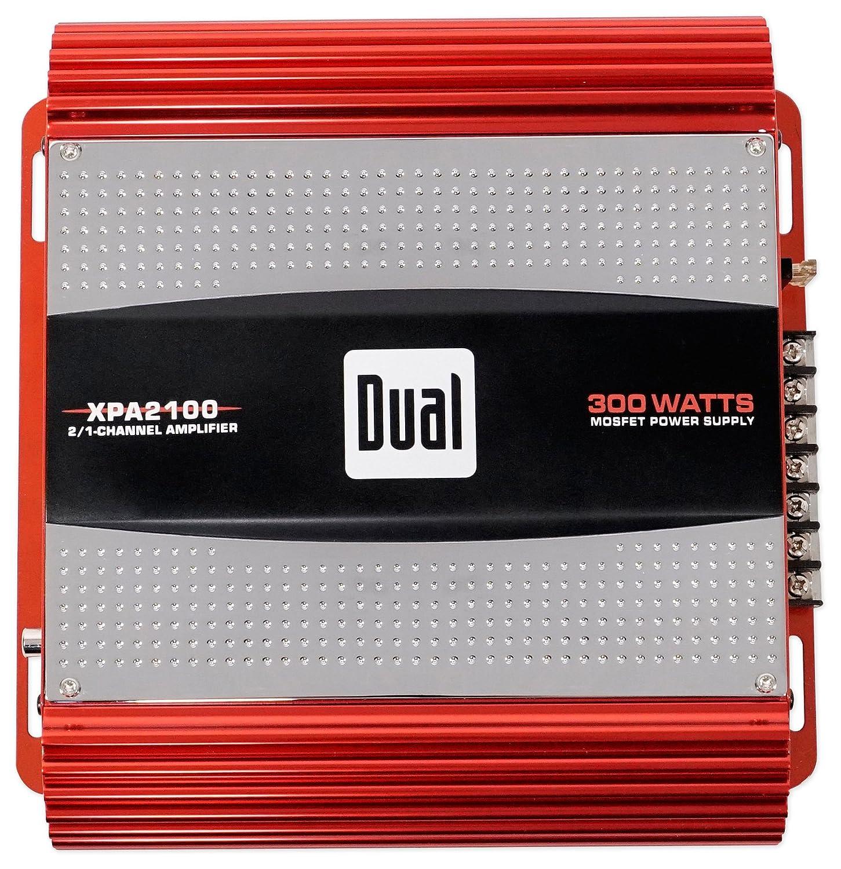Dual Xpa2100 300 Watt 2 Channel Car Audio Amplifier Mosfet Circuit Explained Bridgeable Ohm Amp Electronics