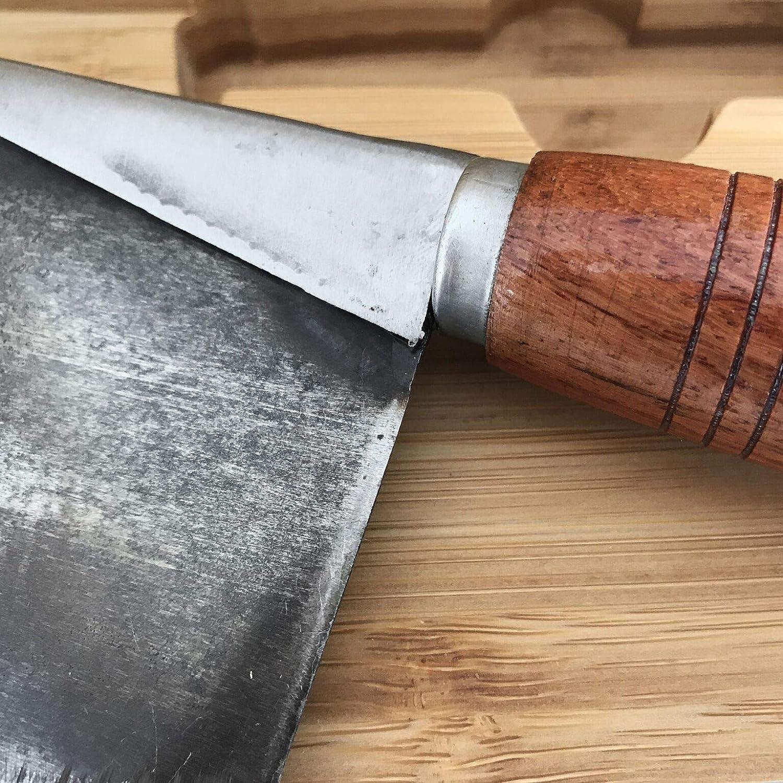 Verve Culture - Cuchillo de acero forjado artesanal con ...