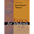 A Study Guide for Derek Walcott's Omeros (Epics for Students)
