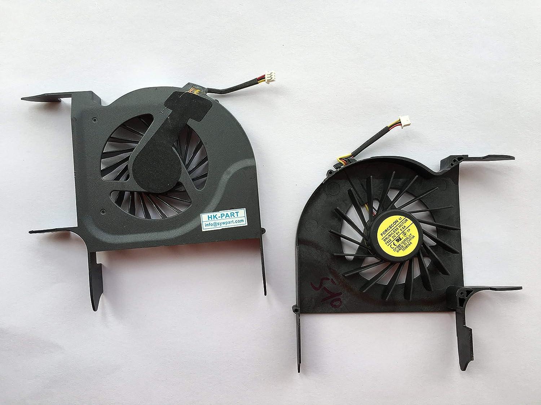 wangpeng Replacement Fan for HP Pavilion DV8 DV8T DV8-1000 DV8T-1000 Series CPU Cooling Fan P//N 580922-001 3-Pin 3-Wire
