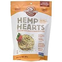Manitoba Harvest Hemp Hearts Raw Shelled Hemp Seeds, Natural, 454g Bag - Packaging May Vary