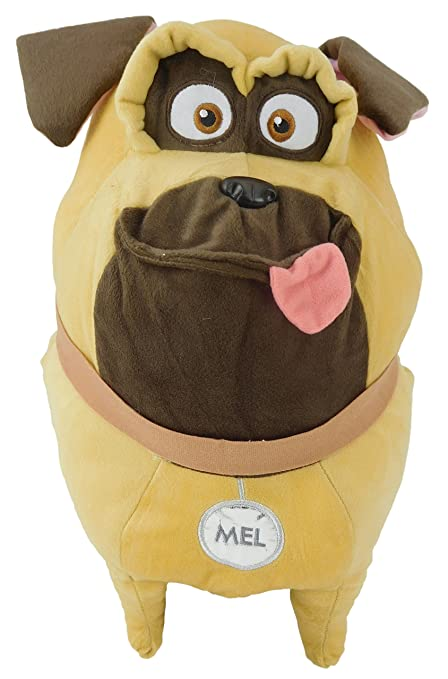 16 Inch The Secret Life of Pets Giant Soft Plush Toy - Mel the Pug -