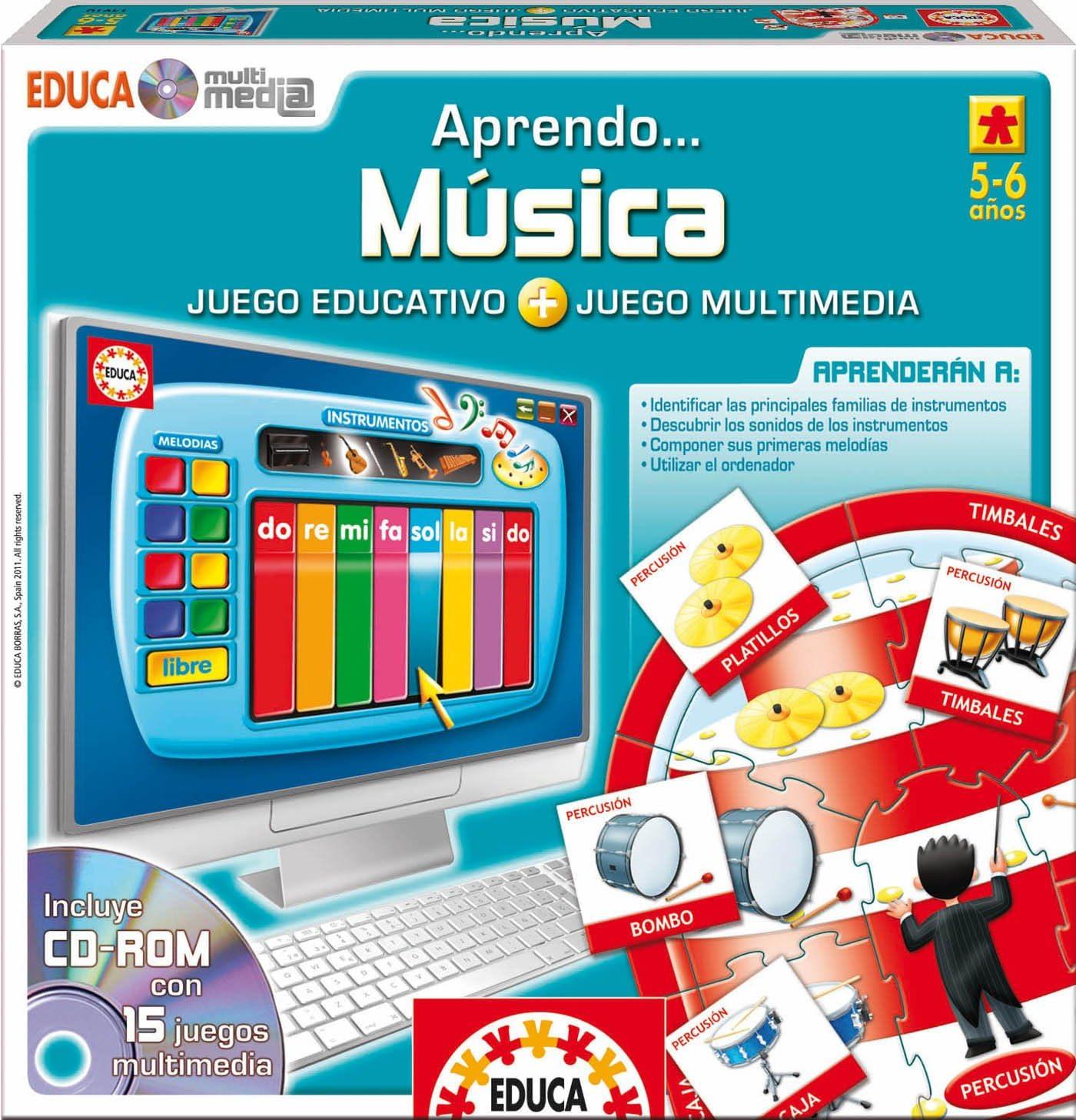Educa Borrás 14910 - Educa Multimedia Música: Amazon.es: Juguetes y juegos