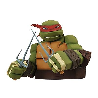 Diamond Select Toys Teenage Mutant Ninja Turtles: Raphael Bust Bank: Toys & Games