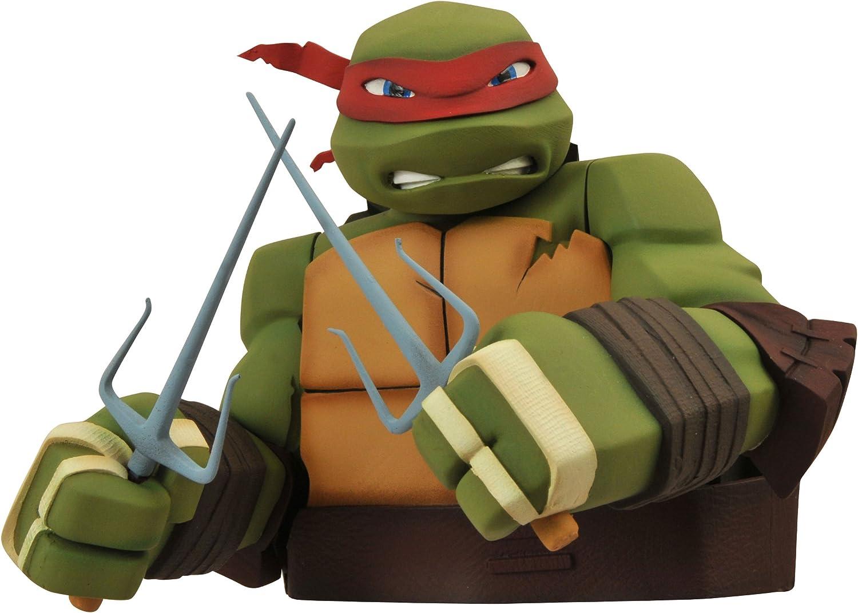 Diamond Select Toys Teenage Mutant Ninja Turtles: Raphael Bust Bank