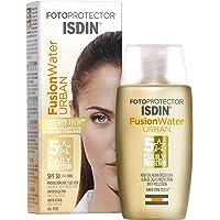 Isdin Fotoprotector Fusion Water Urban SPF 30 - Protector solar Facialultraligero de uso diario para entornos urbanos…