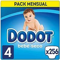 Dodot Bebé-Seco - Pañales Talla 4 (9-14 kg)