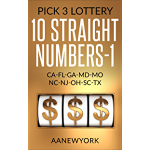 Pick 3 Lottery: Key Digit Programs - Kindle edition by