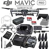 [UPGRADED VERSION] DJI Mavic Pro Collapsible Quadcopter Drone with 4K Camera & Mavic Pro Flight Unlimited Bundle
