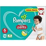 Pampers Baby-Dry Pants - Pannolini con canali d'aerazione, 84 pz, taglia 6