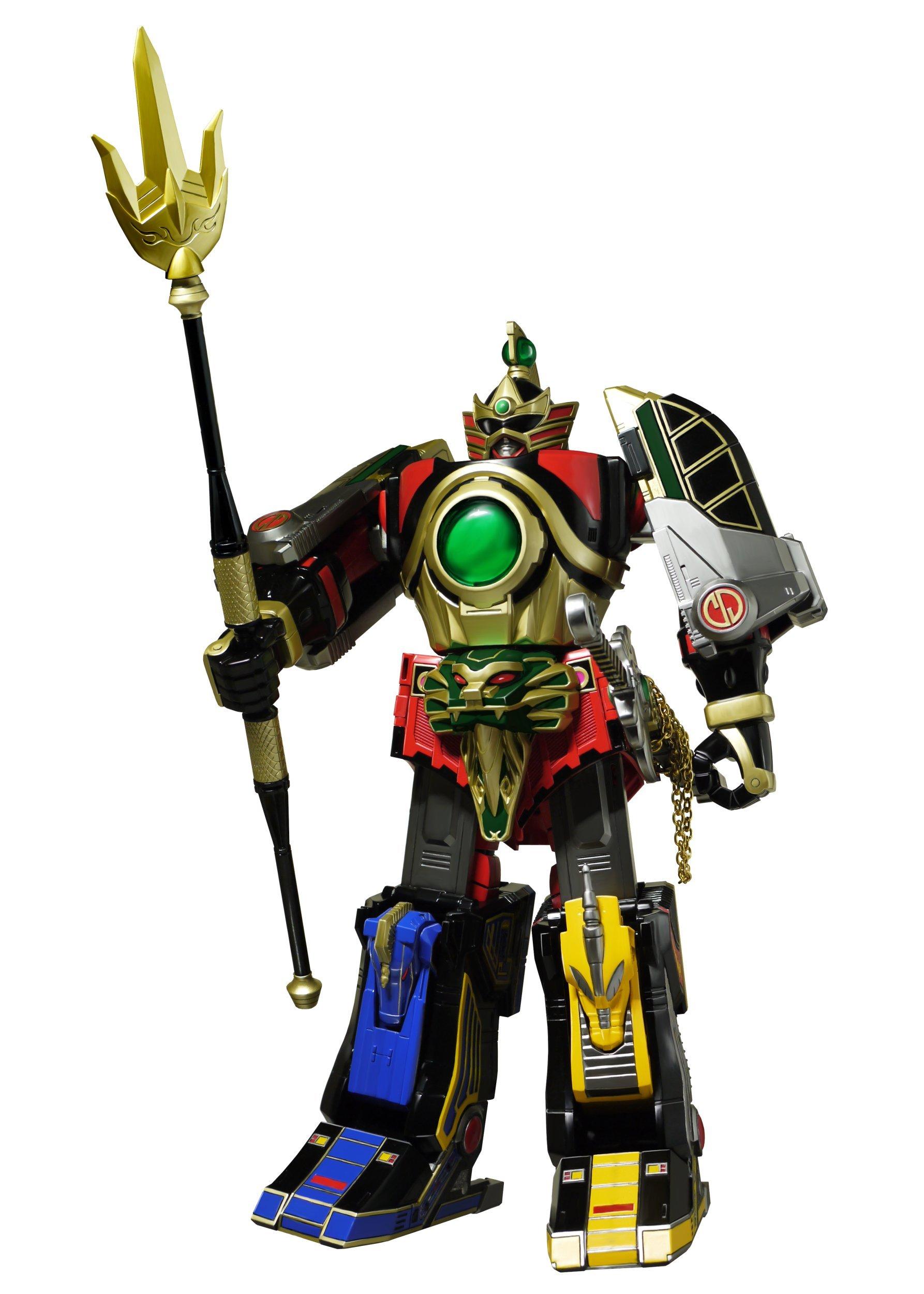 Power Rangers Legacy Thunder Megazord Action Figure