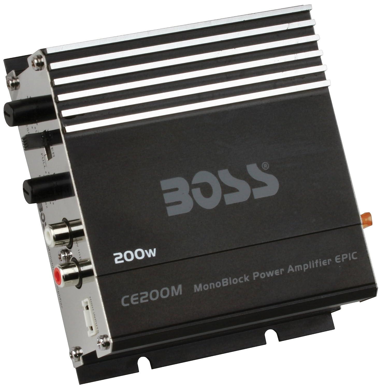 Boss Audio Systems CE200M - amplificadores para coche: Amazon.es: Electrónica