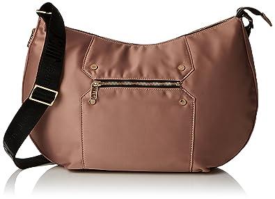 Juicy by Juicy Couture Womens Laurel Shoulder Bag Pink (Rose Satin ... 05afe51b99