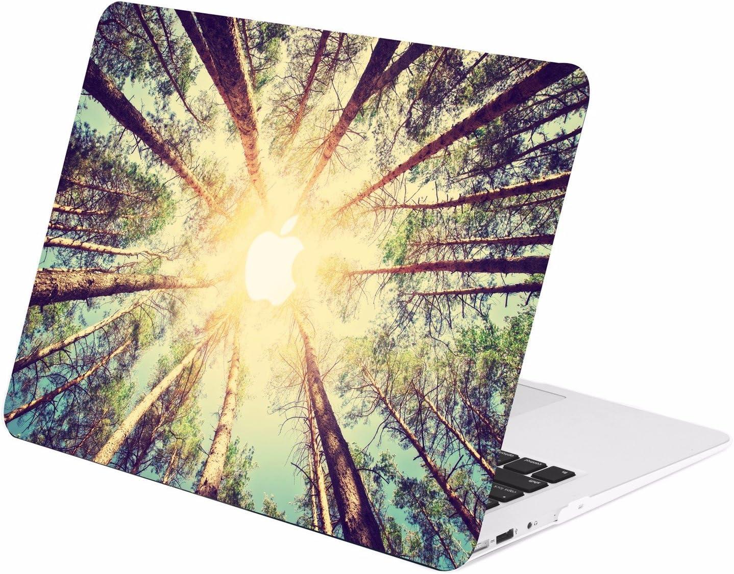 "TOP CASE - Autumn Spectrum Graphic Rubberized Hard Case Compatible Older Generation MacBook Air 13"" A1369 / A1466 (Release 2010-2017) – Autumn Compatibleest"