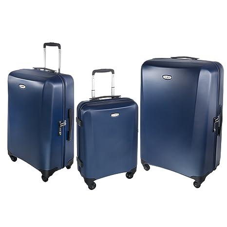 Samsonite NCS KLASSIK - Juego de maletas azul turquesa