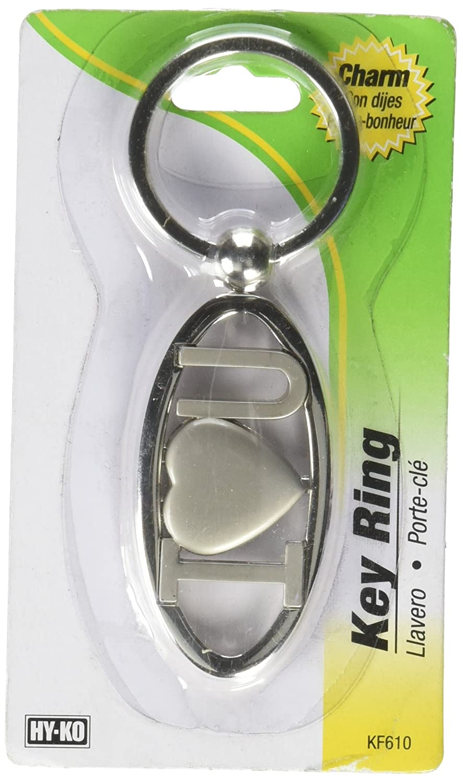 Amazon.com : HY-KO PROD SLV Love You Key Chain (KF610) : Key ...
