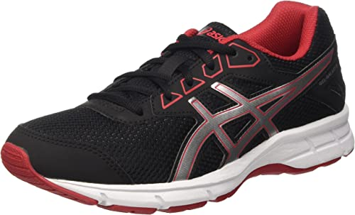 Asics Gel-Galaxy 9 GS, Zapatillas Infantil, Negro (Black/Silver/True ...