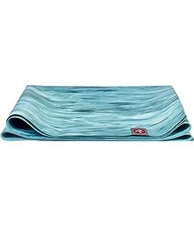 Amazon.com : Non Slip Yoga Mat - Folding Yoga Mat - Pink ...