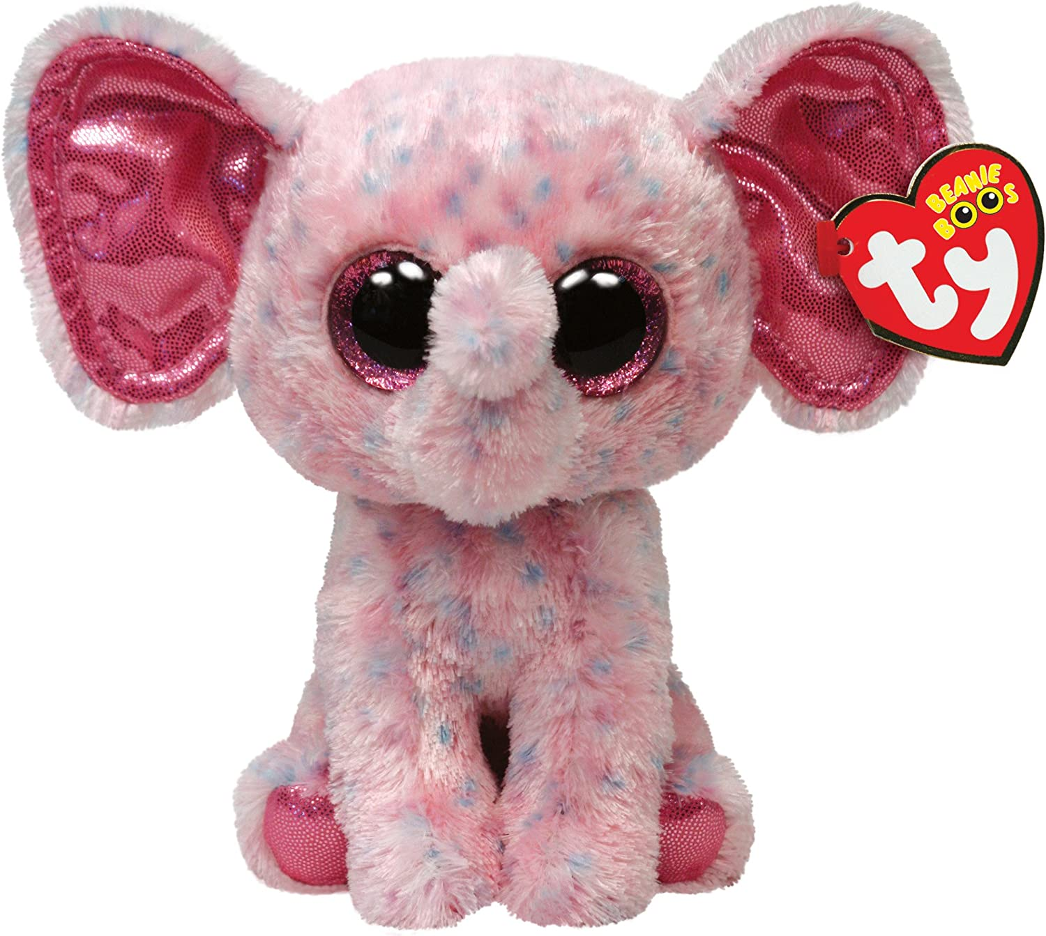 Ty - Peluche Elefante, 15 cm, Color Rosa (United Labels 36728TY): Amazon.es: Juguetes y juegos