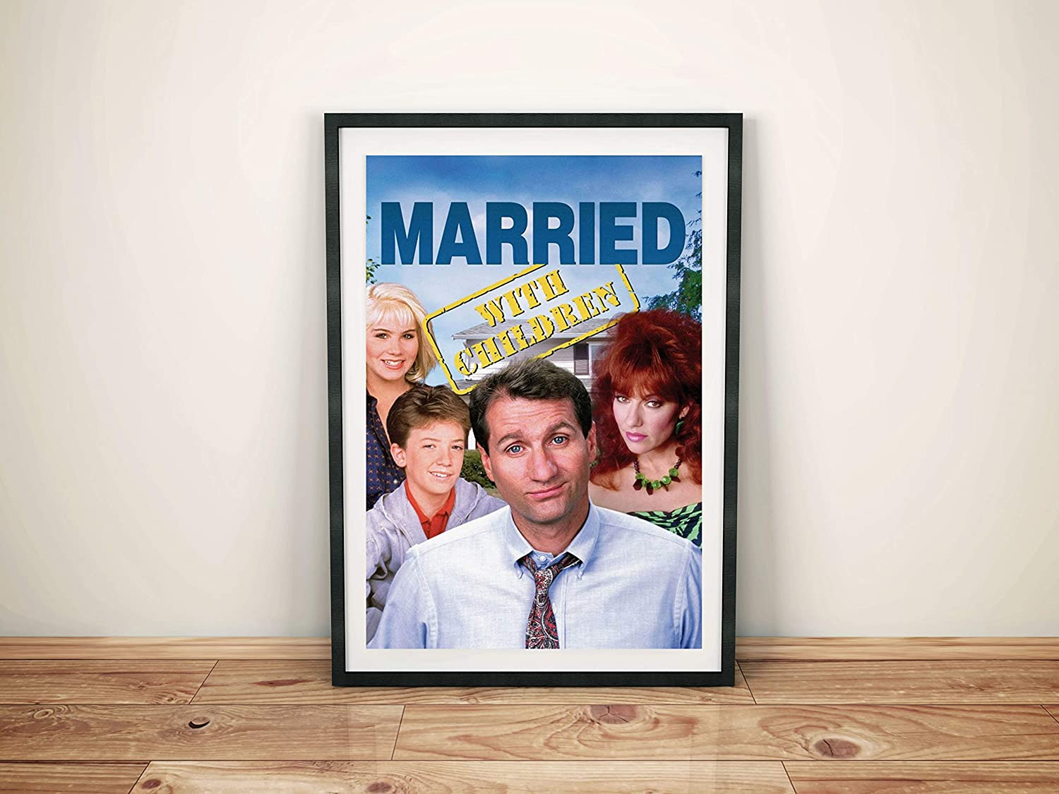 """Married With Children Cast Poster 16/""""x24/"""""""