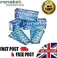 Renata SR626SW Lot de 10 piles 377 pour montre