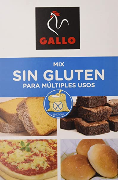 Gallo - Mix para multiples usos - Sin gluten - 500 g - [Pack de 9 ...