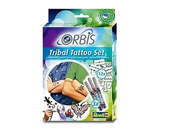 Revell Orbis 30301 Juego De Tatuaje Tribal Para Ninos Amazones - Juegos-de-tatuajes-para-nios