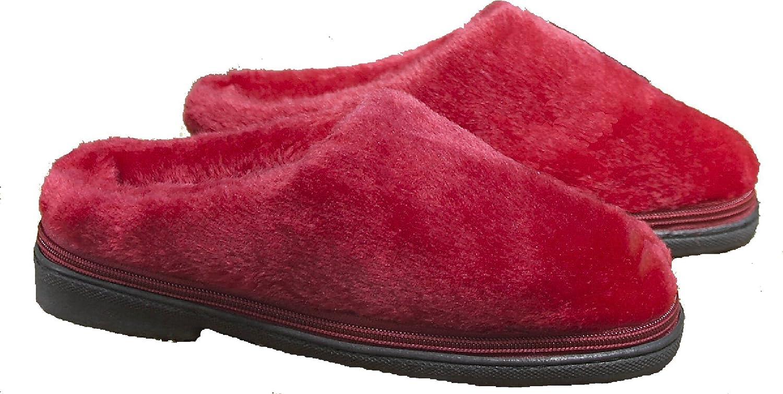 Microondas Zapatillas Cozy Toze (Pequeña Roja 36-38): Amazon.es ...