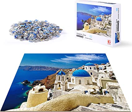 Educational 1000 Piece Coast Jigsaw Puzzles for Kids Adult Educational Puzzle