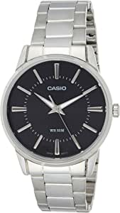 Casio Men's Black Dial Stainless Steel Analog Watch - MTP-1303D-1AVDF