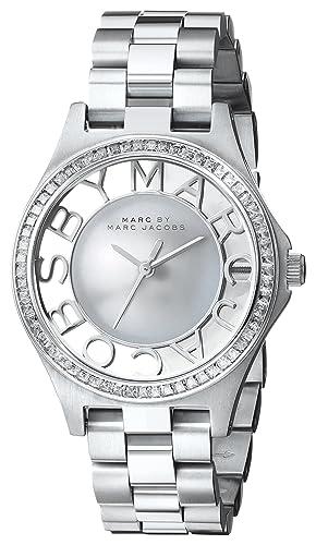 Marc Jacobs - Henry - MBM3337 - Analógico Cuarzo Mujer: Amazon.es: Relojes