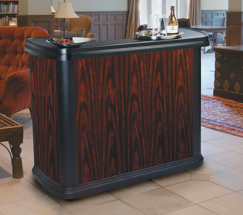 Amazon.com: Carlisle 7550094 Maximizer Portable High Top Entertainment Bar,  Cherry Wood: Kitchen U0026 Dining