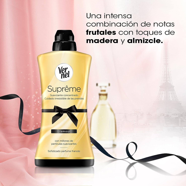 Vernel Suprême Suavizante Concentrado Glamour 1200ml: Amazon.es ...