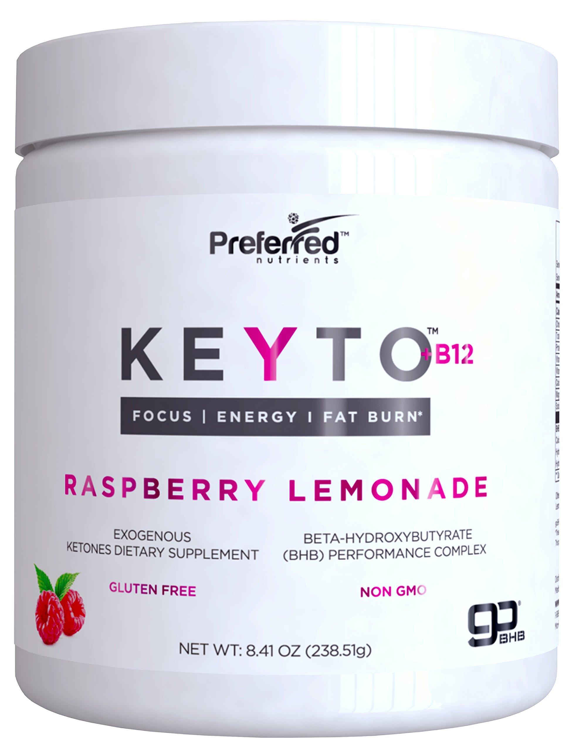 Amazon.com: Keto BHB Salts Exogenous Ketones - Beta-Hydroxybutyrate Supplement Powder & Vitamin ...