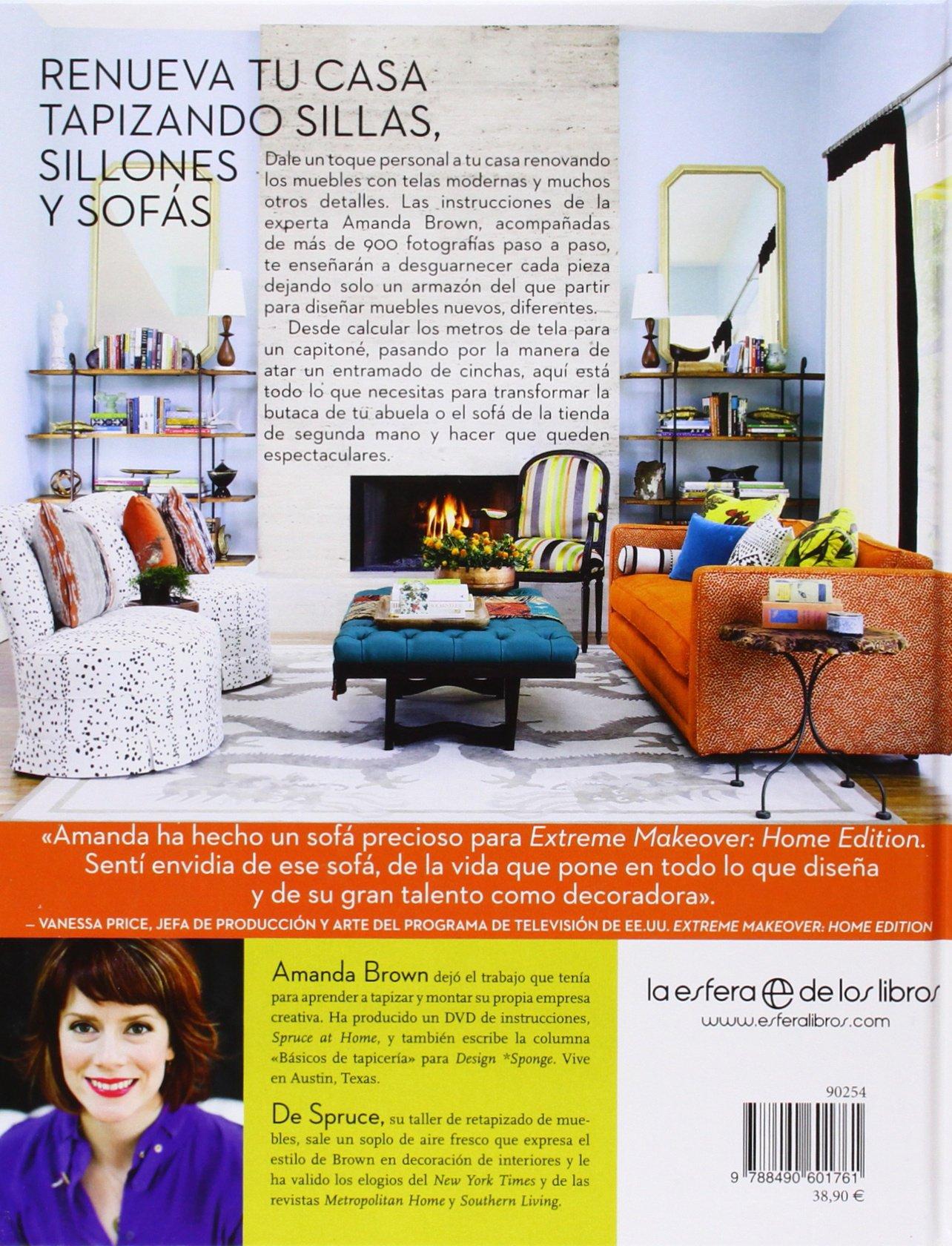 La Tapicería En Casa (Ilustrado): Amazon.es: Amanda Brown ...