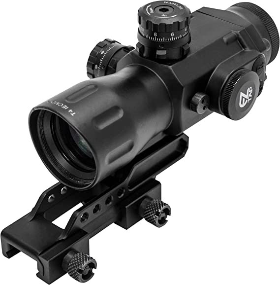 UTG Compact Prismatic 4x32 T4x Glass T-Dot Scope