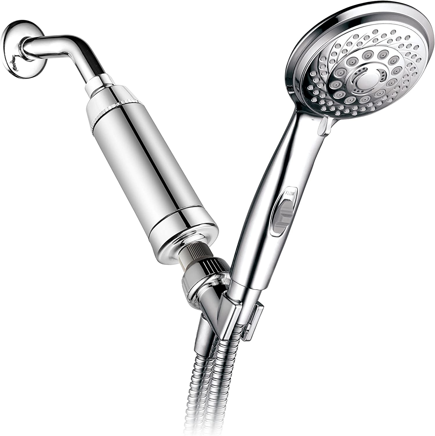Hotel Spa 7-Setting Handheld Shower Filter