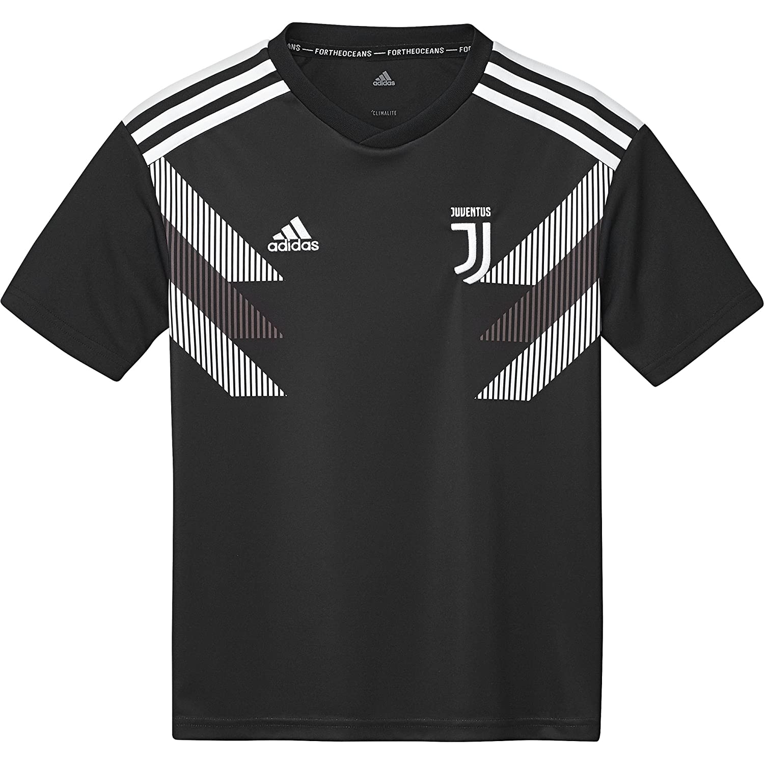 27f5e9f5d adidas Juventus Home Junior Pre-Match Jersey 2018 2019  Amazon.co.uk   Sports   Outdoors