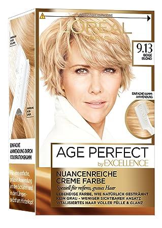 Loréal Paris Excellence Age Perfect Coloration 913 Beige Blond 3er Pack 3 X 1 Stück