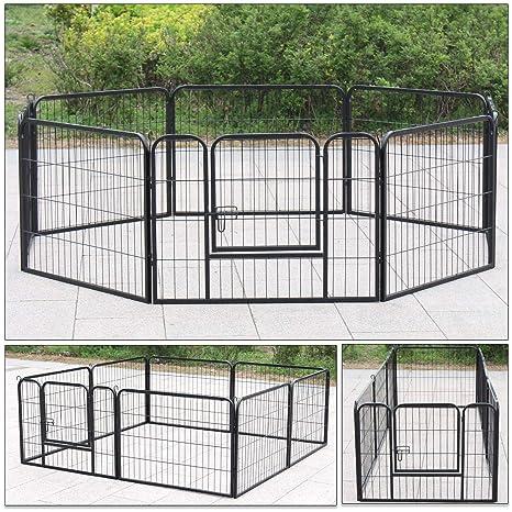 D4P Display4top Parque para Perros Jaula de Perros para Perros ...