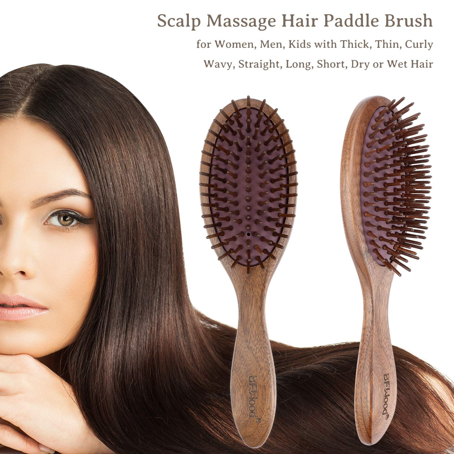 Wooden hair brush benefits