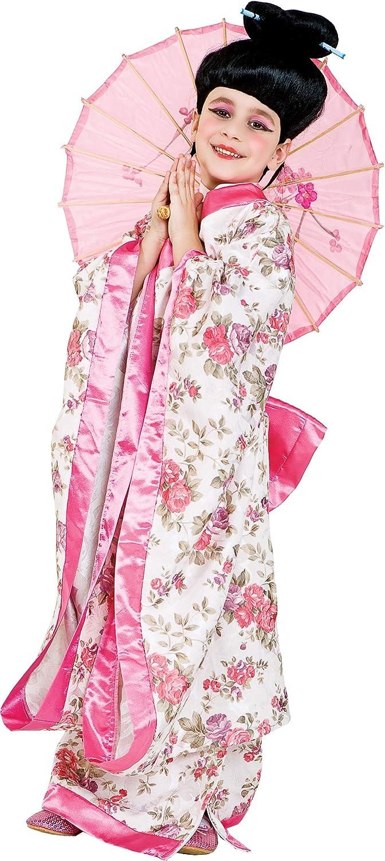 chiber Disfraces Disfraz de Japonesa para Niña (Talla 8 (7-8 años ...