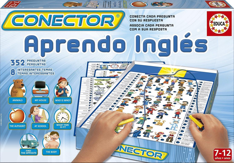 Educa Borrás - Conector Aprendo Inglés (14252): Amazon.es: Juguetes y juegos