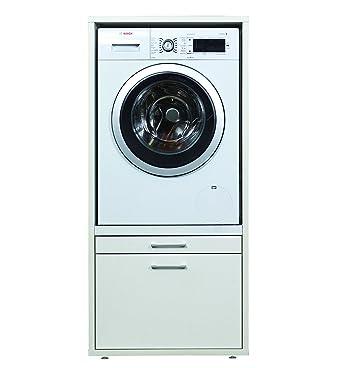 Waschmaschinenschrank erhöhung mit Stauraum der \