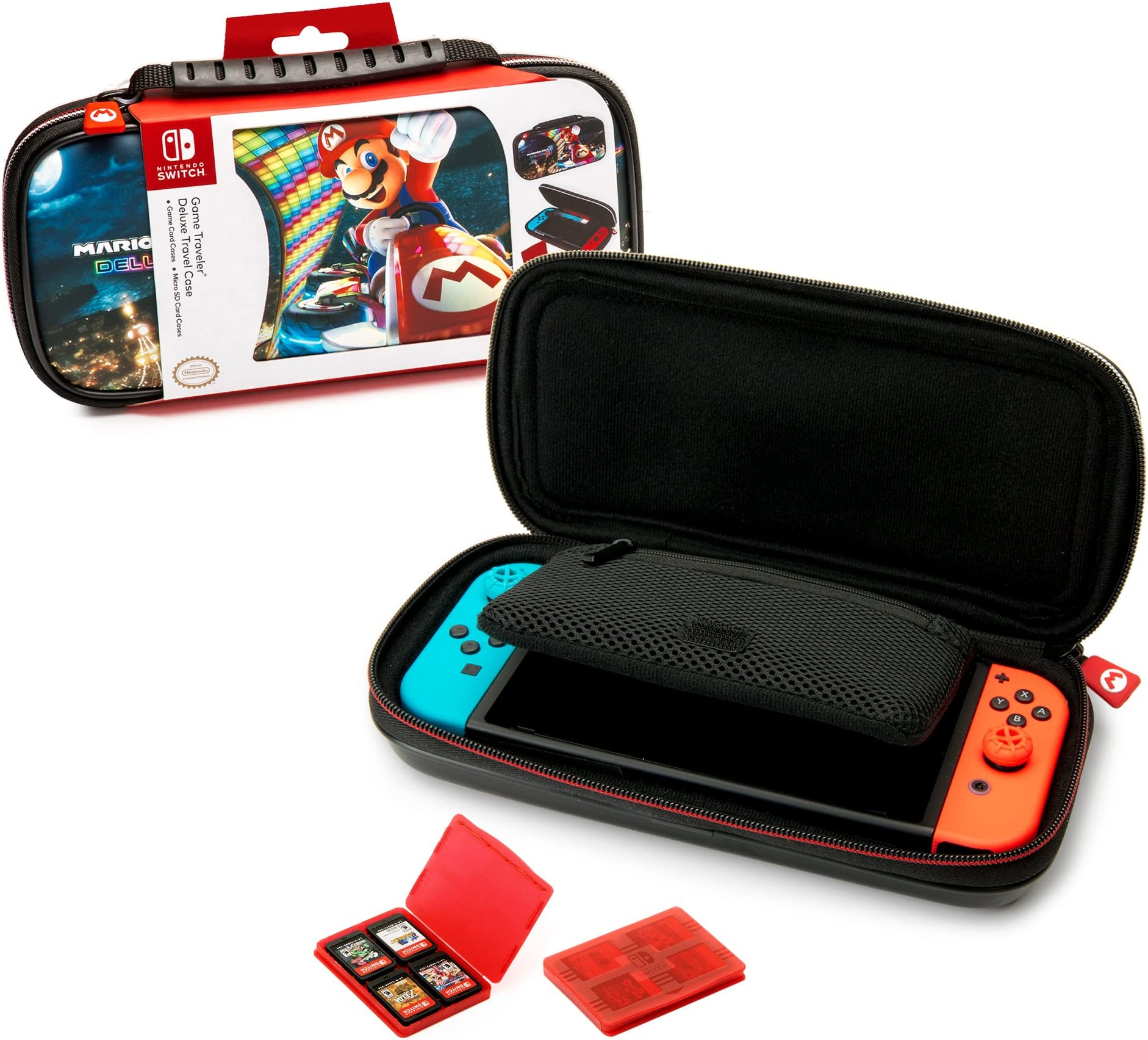 Amazon.com: Nintendo Switch Mario Kart 8 Deluxe Carrying ...
