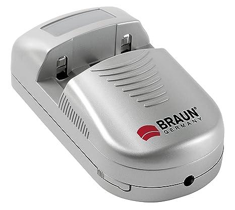 Braun Photo Technik 59401 - Cargador (3.6 V, 1,2 A): Amazon ...