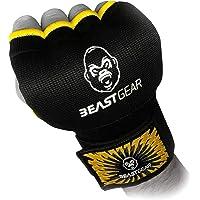 Beast Gear Guantes Boxeo Gel – Manoplas Boxeo de Calidad Superior para Deportes de Combate, MMA, Muay Thai, Artes…