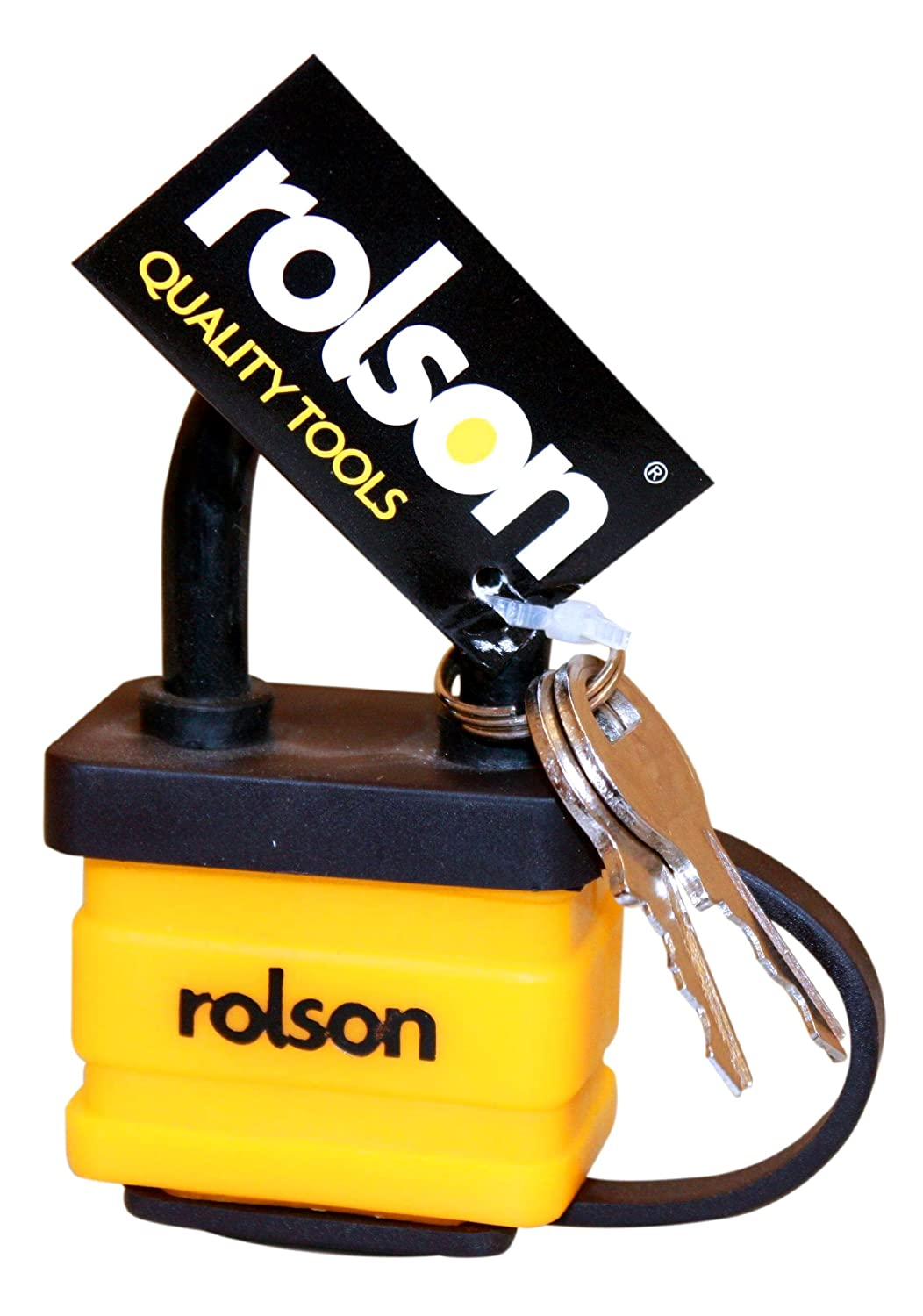 Rolson 66521 40mm Weather-Resistant Padlock
